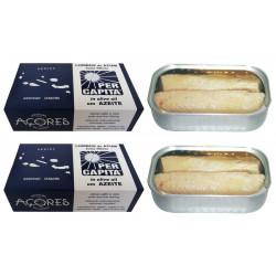 Lombos de Atum dos Açores em Azeite PER CAPITA 120 g