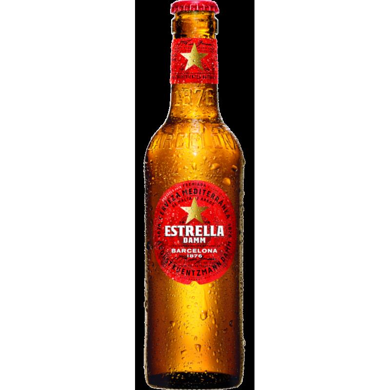 Estrella Damm Cerveja Lager 0,25 L
